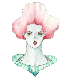Woman From the Cold of Space I