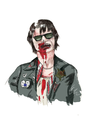 Bill Paxton's immortal character Severen from Near Dark