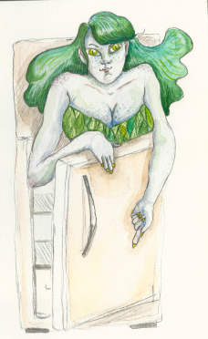 Green Woman_Tager